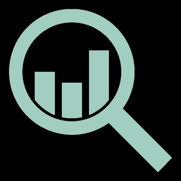 Analyze - Created by Yanick Brezet from Noun Project