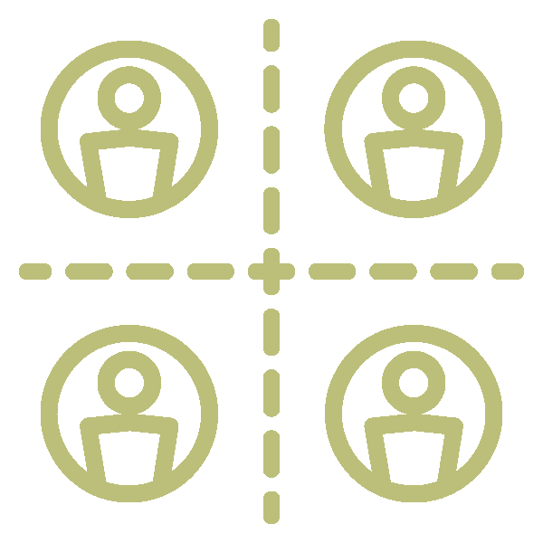 Segmentation - created by Justin Blake from Noun Project