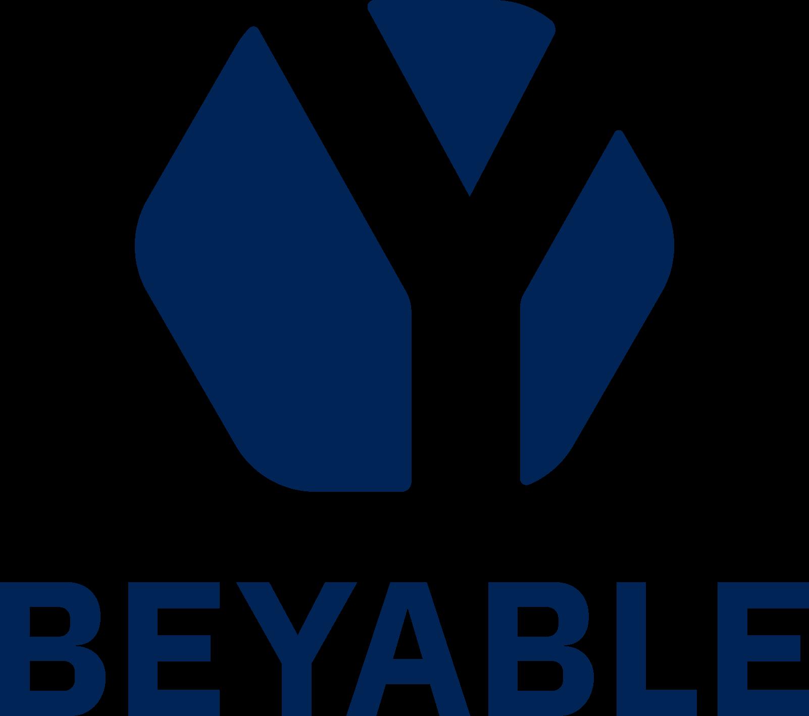 Logo BEYABLE Blanc